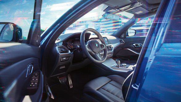 BMW 3er Limousine Cockpit