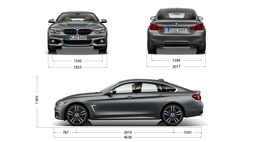 Technische Daten BMW 4er Gran Coupé