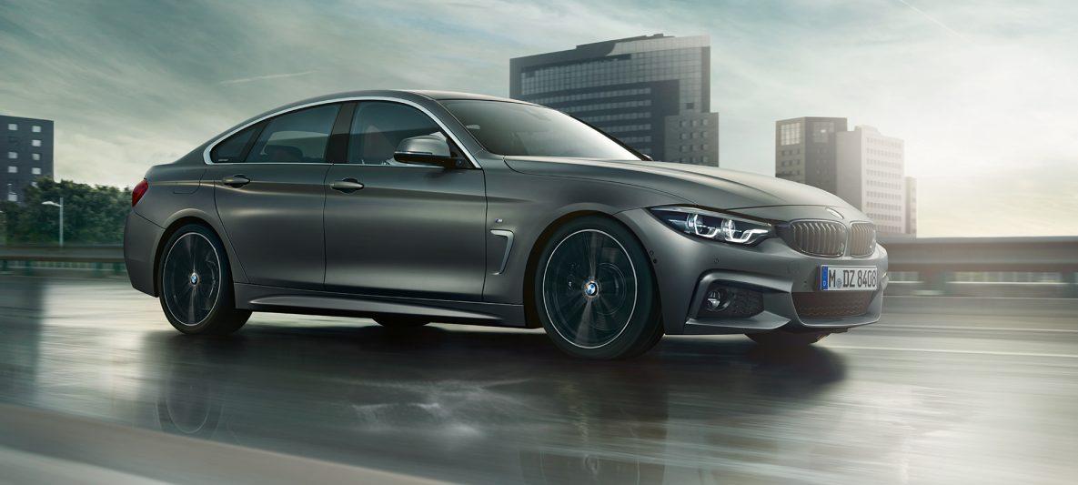 BMW 4er Gran Coupé, Standaufnahme der Front