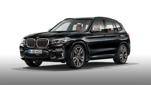 BMW X3 M mit 21-Zoll M Leichtmetallrädern im Doppelspeichen-Design