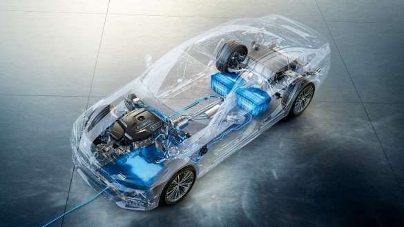 BMW 530e Energiemanagement